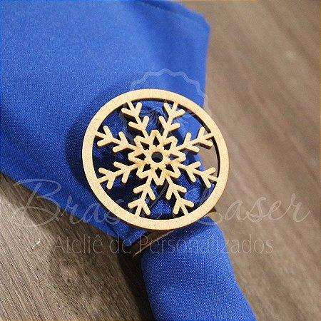 1 Porta Guardanapo em Mdf Desenho Floral (Pintado e Sem Pintura) - #Quant.Mínima: 10 unidades iguais# PGV 01064A