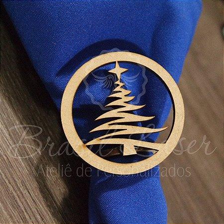 1 Porta Guardanapo em Mdf Natal Árvore (Pintado e Sem Pintura) - #Quant.Mínima: 10 unidades iguais# PGV 01072A