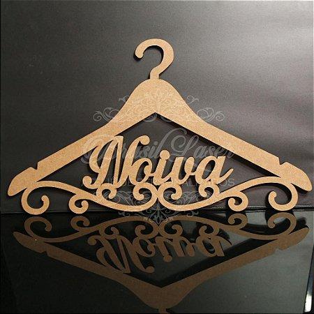 Cabide Personalizado com os Nome(s) dos Noivos ou Debutante - CAV 01013A