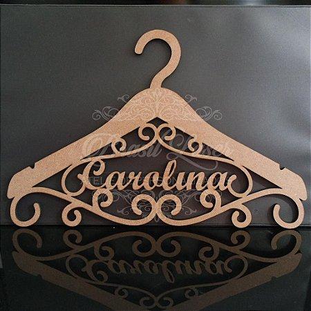 Cabide Personalizado com o Nome(s) dos Noivos ou Debutante - CAV 01019A