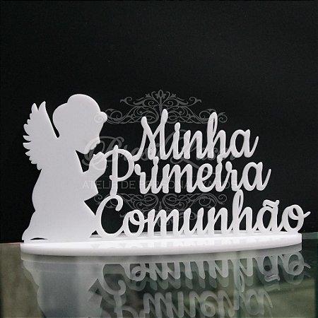 Topo de Bolo Primeira Comunhão Anjinho - TBV 01099A