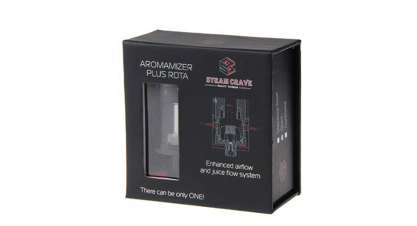 AROMAMIZER PLUS RDTA 10ML - STEAM CRAVE