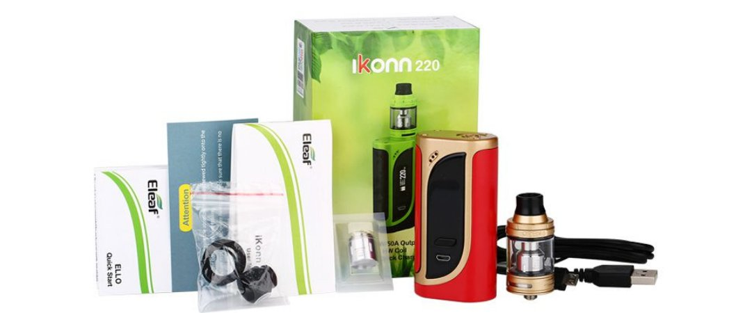 KIT  IKONN 220W TC STARTER  - ELEAF
