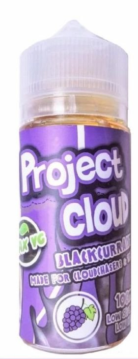 LÍQUIDO BLACK CURRANT - PROJECT CLOUD