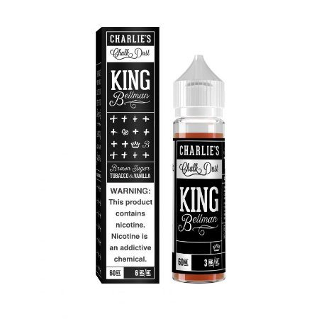Líquido CHARLIES - KING BELLMAN 60ML Tacacco & Vanilla