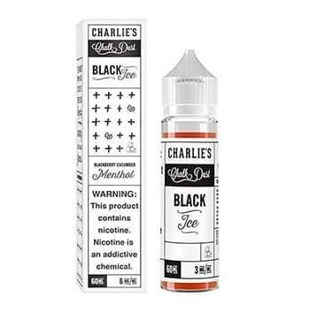 LíQUIDO  BLACKBERRY CUCUMBER MENTHOL - CHARLIES - BLACK ICE