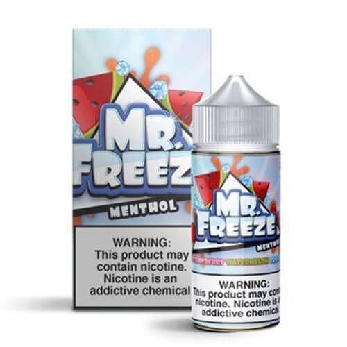 Líquido MR. Freeze Menthol - STRAWBERRY  WATERMELON  FROST