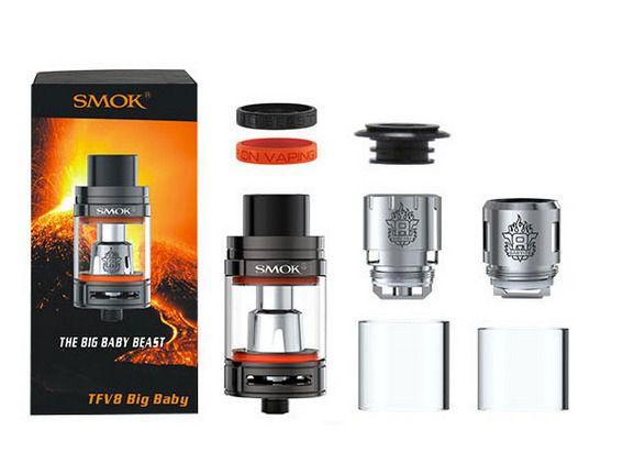 Atomizador TFV8 Big Baby - Beast Tank - Smok