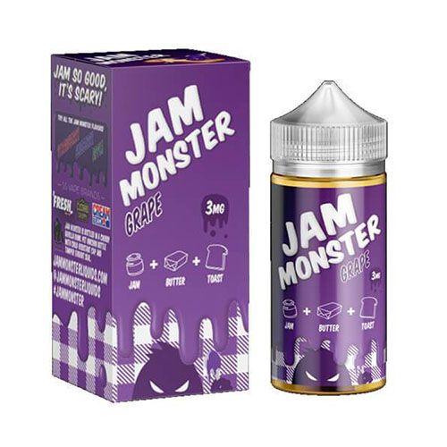 LIQUIDO GRAPE 100ML - JAM MONSTER