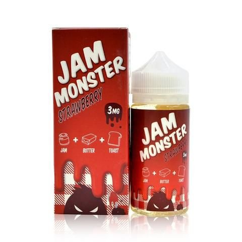 Líquido Jam Monster - Strawberry