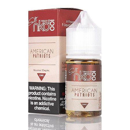 Líquido Salt Nicotina - American Patriots - NKD 100