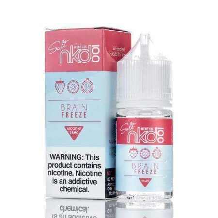 Líquido Salt Nicotina - Brain Freeze Menthol  - NKD 100