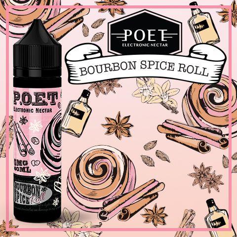 Líquido P.O.E.T - Bourbon Spice Roll