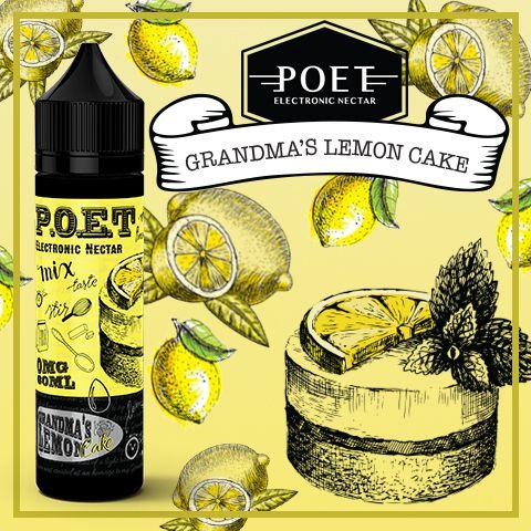 Líquido P.O.E.T -  Grandma's lemon cake