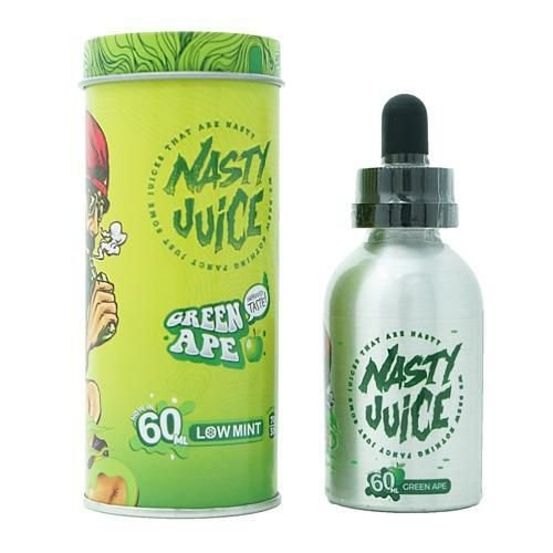 Líquido Green Ape Low Mint - Nasty juice - Yummy Fruity