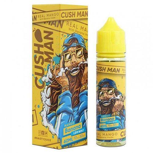 Líquido Cush Man Mango Banana (Low Mint)  - Nasty Juice