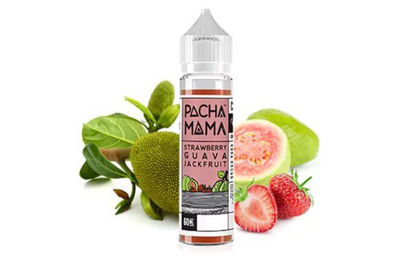 Líquido Strawberry  Fruit Guava  Jackfruit  - Pachamama