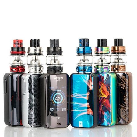 Kit  Luxe 220W Touch Screen TC Kit with SKRR - Vaporesso
