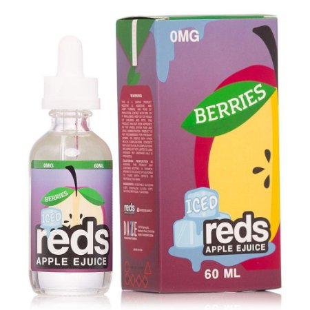 Líquido Berries Iced - Reds Apple Ejuice - 7 DAZE