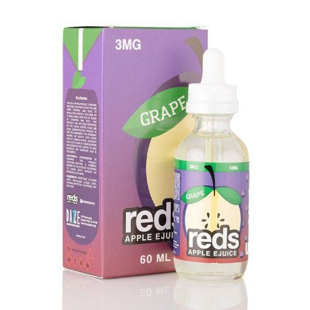 Líquido Grape  - Reds Apple Ejuice - 7 DAZE