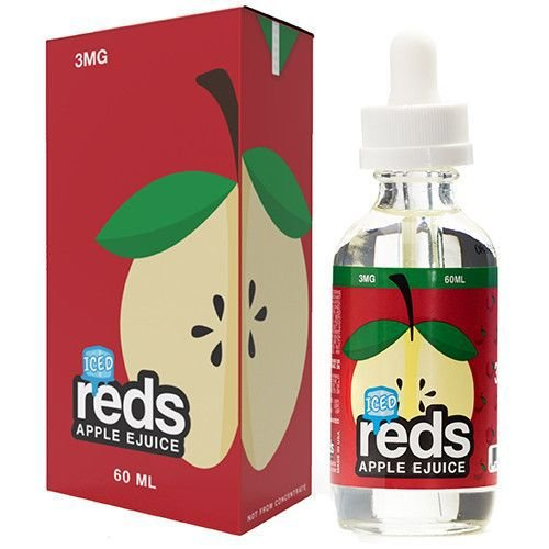 Líquido Apple Iced - Reds Apple Ejuice - 7 DAZE