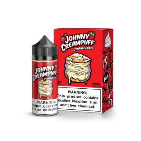 Líquido Johnny Creampuff Strawberry