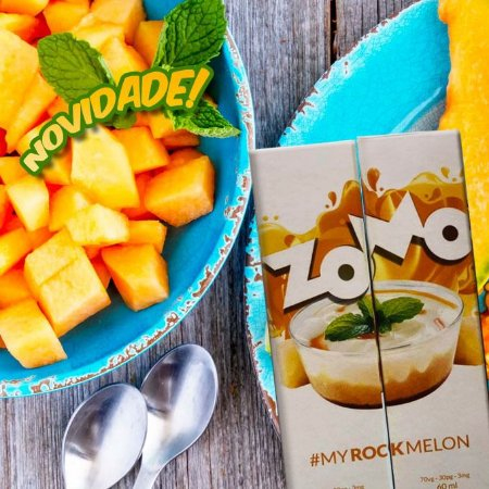 LÍQUIDO ZOMO - MY ROCK  MELON E-JUICE