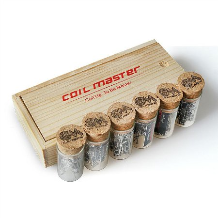 Resistências Prontas c/10 Unidades  - Coil Master