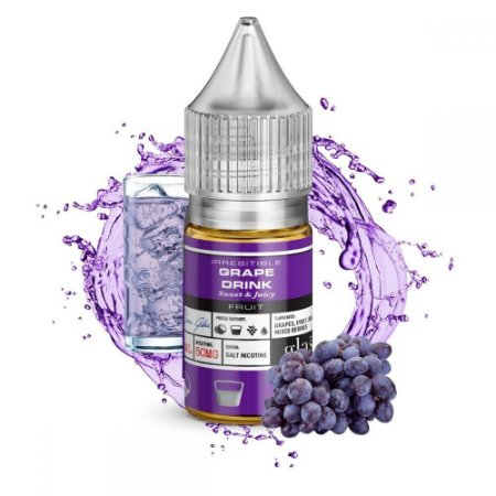 Líquido Salt Nicotine - Grape Drink - Glas