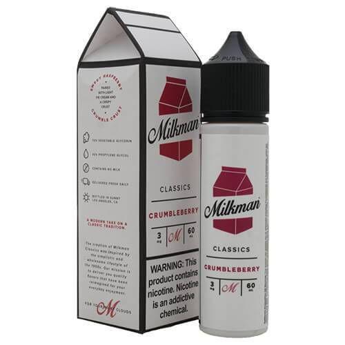 The Milkman Classics Crumbleberry