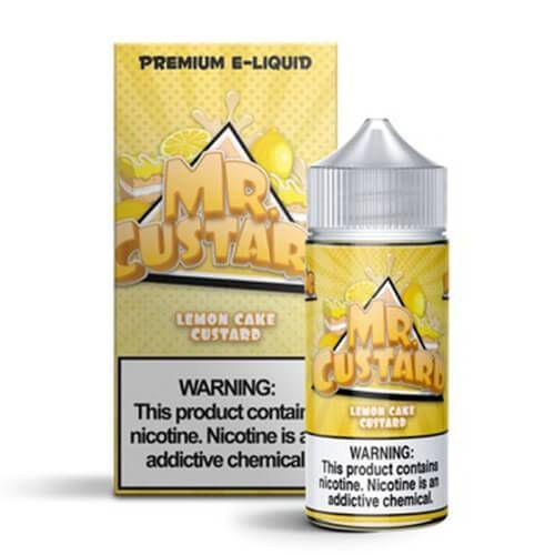Líquido Lemon Cake Custard - MR. Custard Premium E-liquid