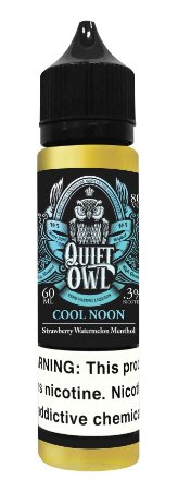 Líquido Quiet OWL - Cool Noon - Strawberry Watermelon Menthol - Element