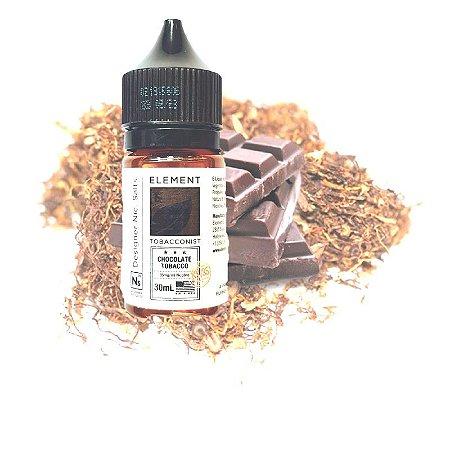 LÍQUIDO ELEMENT SALT NICOTINE - CHOCOLATE TOBACCO