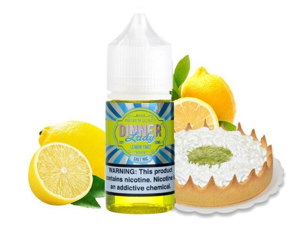 Líquido Nicotine salt - Dinner Lady - Lemon Tart