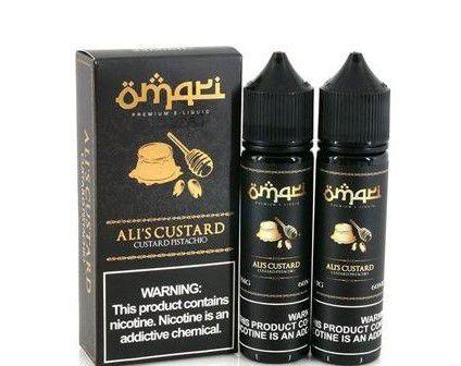 Líquido   - Custard  Pistachio  - Ali's Custard  -  Omari