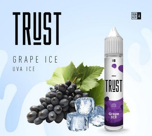 Líquido GRAPE ICE - TRUST