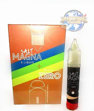 Kit Pod System Renova Zero + juice Salt MAGNA Brinde 10ml 35mg - Vaporesso