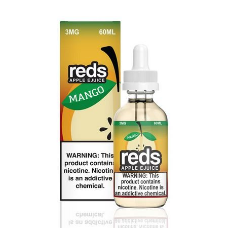 LÍQUIDO MANGO REDS APPLE E-JUICE - 7 DAZE