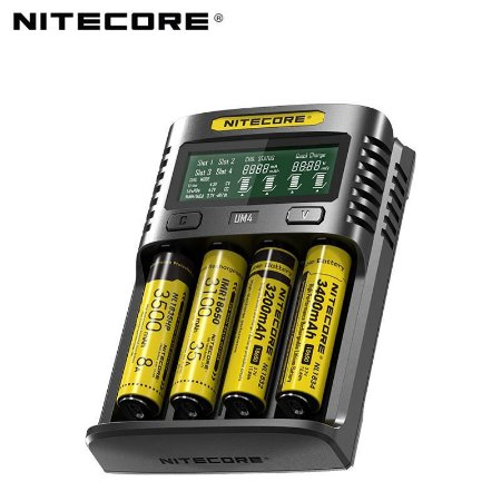 CARREGADOR UMS4 LCD - NITECORE®