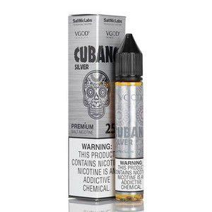 Líquido Cubano Silver - SaltNic / Salt Nicotine - VGOD SaltNic