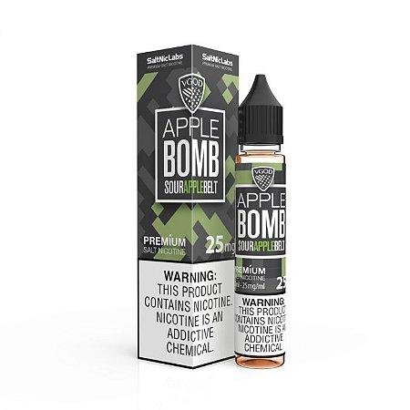 Líquido Apple Bomb Belt - SaltNic / Salt Nicotine - VGOD SaltNic