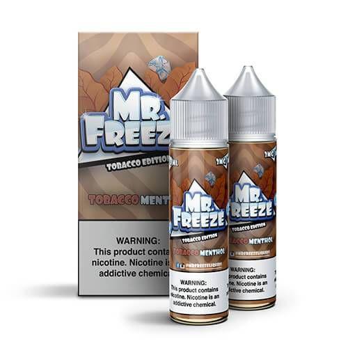 Líquido MR. Freeze Edition - Tobacco Menthol