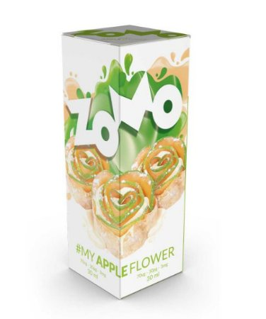 LÍQUIDO MY APPLE FLOWER E-JUICE - ZOMO