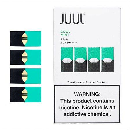 PODs (cartucho) c/ Líquidos Cool Mint  JUUL