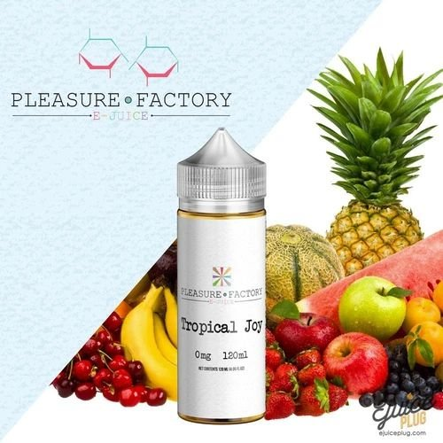 LÍQUIDO TROPICAL JOY - PLEASURE FACTORY - RUTHLESS