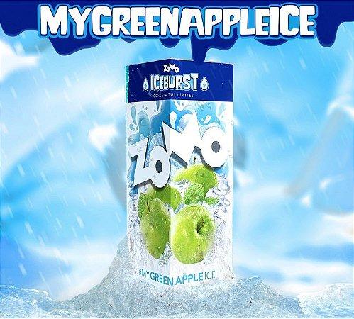 LÍQUIDO ZOMO MY GREEN APPLE ICE - ICEBURST