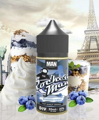 LIQUIDO ROCKET MAN - NICSALT - ONE HIT WONDER E-LIQUID