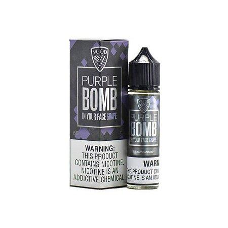 Líquido Purple Bomb Grape  Premium American - Vgod