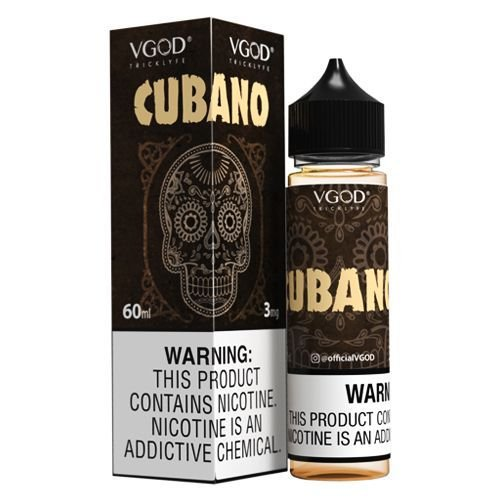 Líquido Cubano Rich Creamy Cigar  Vgod