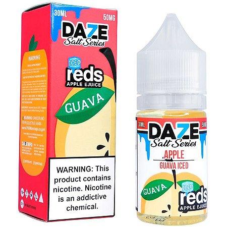 Líquido NicSalt Apple Guava ICED Reds 7 DAZE